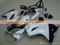 Wholesale honda fairings for sale - Group buy New Motorcycles ABS Fairings Kit set Fit For HONDA VFR800 VFR Fairing set custom white black
