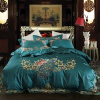 Wholesale bedding for queen size beds resale online - Chpermore High grade Long staple cotton Bedding Set Wedding pillow case Bed Sheets Quilt Cover For Twin Queen King Size