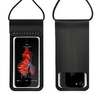 wasserdichte abdeckungen für mobiltelefone großhandel-Wasserdichte Tasche Handytasche Abdeckung Mobile Fall Strand Außenpool Schnorcheln Tasche für Handy