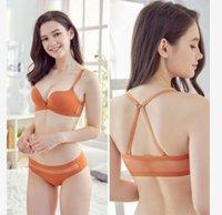 nylons de sutiã venda por atacado-Baixo preço de alta qualidade 3 set / lotes de nylon respirável. lady's bra set underwear 24wewr