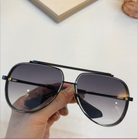 Wholesale uv protective sunglasses resale online - New fashion designer man sunglasses MACH square frames vintage popular style uv protective outdoor eyewear