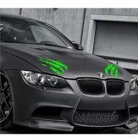 Wholesale claw stickers resale online - car Monster Claw Cover Hood Car Stickers Scratches Totem Personalized Modified Decals Detor