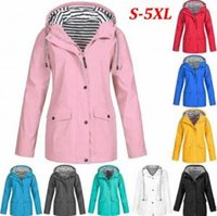 Wholesale wholesale camp clothing for sale - Striped Outdoor Jackets Women Winter Solid Pocket Waterproof Sunscreen Tracksuits Sports Coat Warm Home Clothing OOA6329