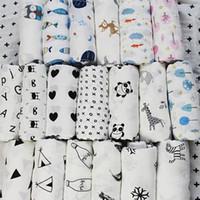 couvertures de bébé en coton à la main achat en gros de-Couverture en mousseline infantile Licorne flamant INS bébé bonneterie couverture couverture éponge bébé printemps été bébé bébé 0602054