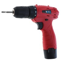 Wholesale 12v gear resale online - Voto Ac V Cordless V Electric Screwdriver With Rotation Adjustment Switch And Gear Torque For Handling Screw