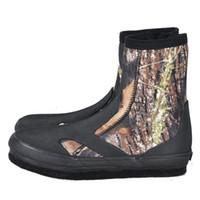 angelschuhe schuhe großhandel-HobbyLane Professional Fishing Boots Rutschfeste, abriebfeste Anti-Schneid-Upstream-Schuhe für das Wassersport-Angeln