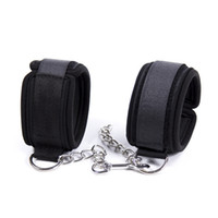 Wholesale adult bondage cosplay for sale - Group buy Sweet Magic Soft Padded Hand Cuffs Ankle Cuffs With Chain BDSM Restraint Bondage Accessories For Couples Cosplay Adult Games
