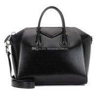 mulher de negócios famosa venda por atacado-Antigona Bolsas De Grife Feminina famosa marca Bolsas de Ombro de alta qualidade real de Couro Mulheres sacola bolsa de negócios crossbody bag bolsa