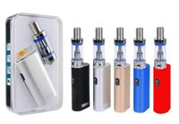 Wholesale e vaporizer box mods resale online - JomoTech Lite Kit Starter kits Jomo w box mod mini bulit in mAh battery vaporizer kits ml Lite tank e cigs cigarettes vapor DHL
