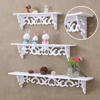 Wholesale Storage Rack Shelf Holder Wall Hanging Creative Decoration Organizer For Home Bedroom FP8