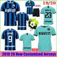 nueva jersey de futbol al por mayor-Nuevo tailandés 19/20 Inter de Milán barato y fino Martínez 9 Lukaku 9 Lukaku 7 ALEXIS campeón camisetas de fútbol 19 jersey de fútbol 20