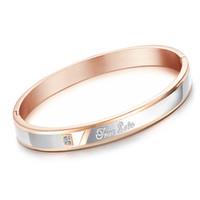 Wholesale luxury xmas gifts for sale - Bulk TRUE LOVE Love Bracciali Luxury Designer Jewelry Women Bracelets L Stainless Steel Jewelry BanglesMens Bracelet Xmas Gifts