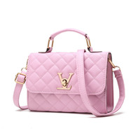 Wholesale locking phone for sale – best Fashion Small Totes Bags Womens Chain Shoulder Bag Purses Female Crossbody Bags PU Leather Messenger Bag Handbags