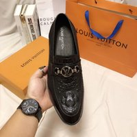 Wholesale wells springs resale online - Wedding Dress Shoes For Red Leather square toe well business gentleman wan2