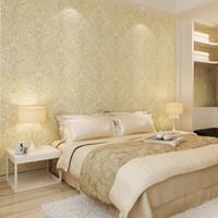 Wholesale thick bedroom wallpaper resale online - beibehang wallpaper Decoration wallpaper thick stereoscopic D bedroom living room TV background wallpaper papel de parede d