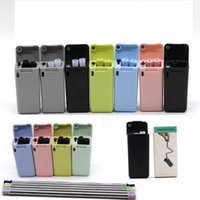 Wholesale stainless steel kitchen tools online - Final Straw Collapsible Reusable Straws Stainless Steel Straws Foldable Drinking Straw With Cleaning Brush Kitchen Tools Drinkware AAA1782
