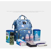 Wholesale baby diaper bag small for sale - Group buy 20 L Large Capacity Backpack Diaper Bag Outdoor Baby Bag Multifunctional Mummy Maternity Backpack for Mom Travel Nappy Bag