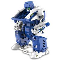 juguetes físicos al por mayor-3-en-1 Transformación Divertida Solar Powered Tank Robot Escorpión DIY Ensamblar Bloques Circuitos Kits Físico Educativo para Niños Juguetes de Rompecabezas de Juguete