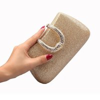 Wholesale cell u phone for sale – best Designer Evening bag Diamond Rhinestone U Clasp Clutches Crystal Day Clutch Wallet Purse for Party Banquet evening bag handbag RC001A