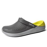 061c2b429921 Sandals Mens Shoes Summer Clogs Mens Beach Sandals Outdoor Zuecos Men  Slippers Sandalias Hombre Size 36-45. 34% Off