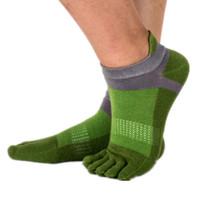calcetines de dedo del pie masculino al por mayor-