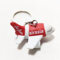 ingrosso portachiavi portachiavi-Airasia airlines airways portachiavi portachiavi in metallo portachiavi per pilota aviatore amanti volanti Air Asia