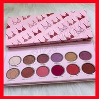 Wholesale valentines wear for sale - Group buy 2018 New Eye makeup The Valentine Eye Shadow Palette pressed powder palette Color eyeshadow highlighter colors