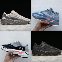 yeni yardımcı kutu toptan satış-2019 Yeni Tephra Programı Siyah Vanta Atalet Dalga Koşucu 700 bej Atalet Leylak 3 M Malzeme Erkekler Kadınlar Koşu Ayakkabıları Ile Spor Sneakers Sneakers