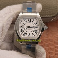 Wholesale butterfly shaped watch for sale - Group buy RB Super version Roadster W6206017 White Dial ETA Automatic Mechanical Mens Watch L Steel Case Steel Band Sport Designer Watches