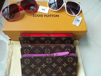 Wholesale zipper clasps resale online - Hotsale Women Long Zipper Lady Purses Women Wallets Female New Luxury Phone Tassel Coin Pocket Designer Clutch PU Leather Card Holder