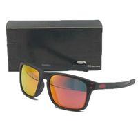 mens aynalı polarize güneş gözlüğü toptan satış-Aynalı o Güneş Vintage Polarize Güneş Gözlüğü Mens Womens için Marka Spor Güneş Gözlükleri Orijinal Aksesuarları ile Bisiklet Seyahat Gözlük