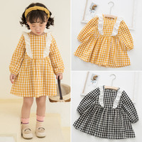 Wholesale fall girl clothes resale online - SUNMA Spring Fall girls Clothes dress Long Sleeve Lolita girl Clothing Dress size cm