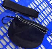 neue ankunftsschulterbeutel großhandel-hangbag Designer der Frauen Schulterbeutel 2020 neue Ankunft meistverkauften Damen sac freies Verschiffen schwarz silber