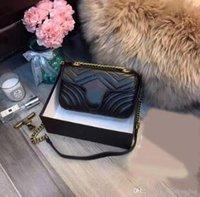 ingrosso vendita di sacchetti di lusso-nuove donne di vendita calde borsa borse a tracolla catena di lusso designer crossbody messaggero di buona qualità borsa dell'unità di elaborazione delle borse di cuoio signore