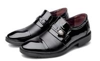 moda ayakkabıları kore tarzı erkekler toptan satış-Ücretsiz gönder 2018 ilkbahar ve sonbahar yeni stil erkek korean moda resmi aşınma sivri uç ayakkabı