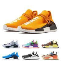 14c316d8a 2019 mens new Human Race Hu trail pharrell williams NMD running shoes Cream  White Holi women trainers designer sports runner sneakers 5-11
