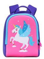 erkek çocuklar için bebek çantaları toptan satış-Meng Xiao Miao Çocuklar Sırt Çantası, Unicorn Yürüyor Bebek Sırt Çantası Anaokulu Çocuk Karikatür Ön Okul Çantaları Erkek Kız Hediye Schoolbag