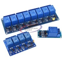 Wholesale relay module arduino resale online - DC V Channel Relay module with optocoupler Relay Output Way Module Board for Arduino