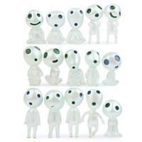 figuras elfas al por mayor-Los nuevos mini versión coreana creativas gato muñecas Kili 15 estilos de decoración de árboles luminosa duende figura de acción de micro jardín landscaping muñeca