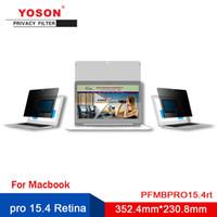 ingrosso privacy del computer-YOSON pro 15.4 Retina Computer Privacy Filter / Anti capolino pellicola / 352,4 millimetri * 230,8 millimetri