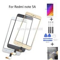 xiaomi glas digitizer großhandel-Schwarz weiß golden touchscreen für xiaomi redmi note 5a touchscreen sensor panel digitizer außenglas digitizer panel sensor