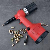 free shipping industry grade pneumatic riveter M3-M12 rivet nut puller automatic air ram rivet nut tool auto riveting wind tool
