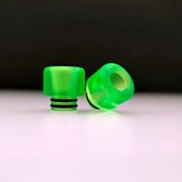 зеленые эпоксидные смолы оптовых-Светящаяся зеленая эпоксидная смола 510 с наконечником капельного хрусталя для мундштука SMOK Alpha vape mod 510 наконечники для капель