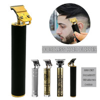 2020 New 120 Minutes Durable (2-3 Hours Fast Charge) Pro Li T-Outliner Skeleton Heavy Hitter Cordless Trimmer Men 0mm Baldheaded HairClippe