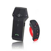 helm walkie talkies headsets groihandel-Durable 1000M 2-Wege-Freisprecheinrichtung Bluetooth Bluetooth Sprechanlage Mini FM NFC GPS leichte, tragbare Für Motorrad-Sturzhelm Drahtlose