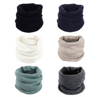 бесконечность шарф зима оптовых-Women Fashion Winter Warm Infinity Circle Cable Knit Cowl Neck Long Scarf Shawl