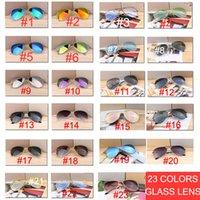tag nacht sonnenbrille großhandel-10 stücke Qualität Pilot Spiegel Sonnenbrille Frauen / Männer Markendesigner Ovale Sonnenbrille Frauen Vintage Outdoor Tag Nacht Fahren Oculos De Sol