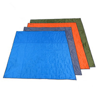 Wholesale large outdoor beach mat resale online - camping mat oxford picnic mat outdoor sand free beach mats large size waterproof pad family camping travel mat