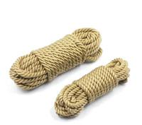 ingrosso gioco di sesso di bondage della corda-Feticcio vizioso di Bondage della cinghia di castità del sesso della corda molle di schiavitù del cotone del gioco di 10Metres SM Trasporto libero
