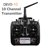 Wholesale walkera transmitters for sale - Group buy Original Walkera Black DEVO G Transmitter CH RX1002 Receiver Telemetry RC Transmitter for RC Model Airplane Multicopter
